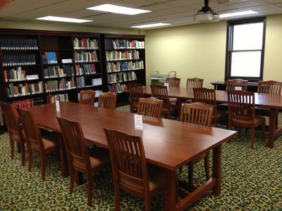 HCAC reading room