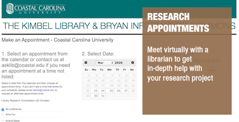 Research appointment image