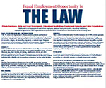 EEO is the Law Poster image