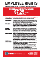 Fair Labor Standards Act Poster image