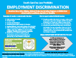 Link to view South Carolina Employment Discrimination Poster pdf