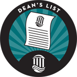 deans list merit badge