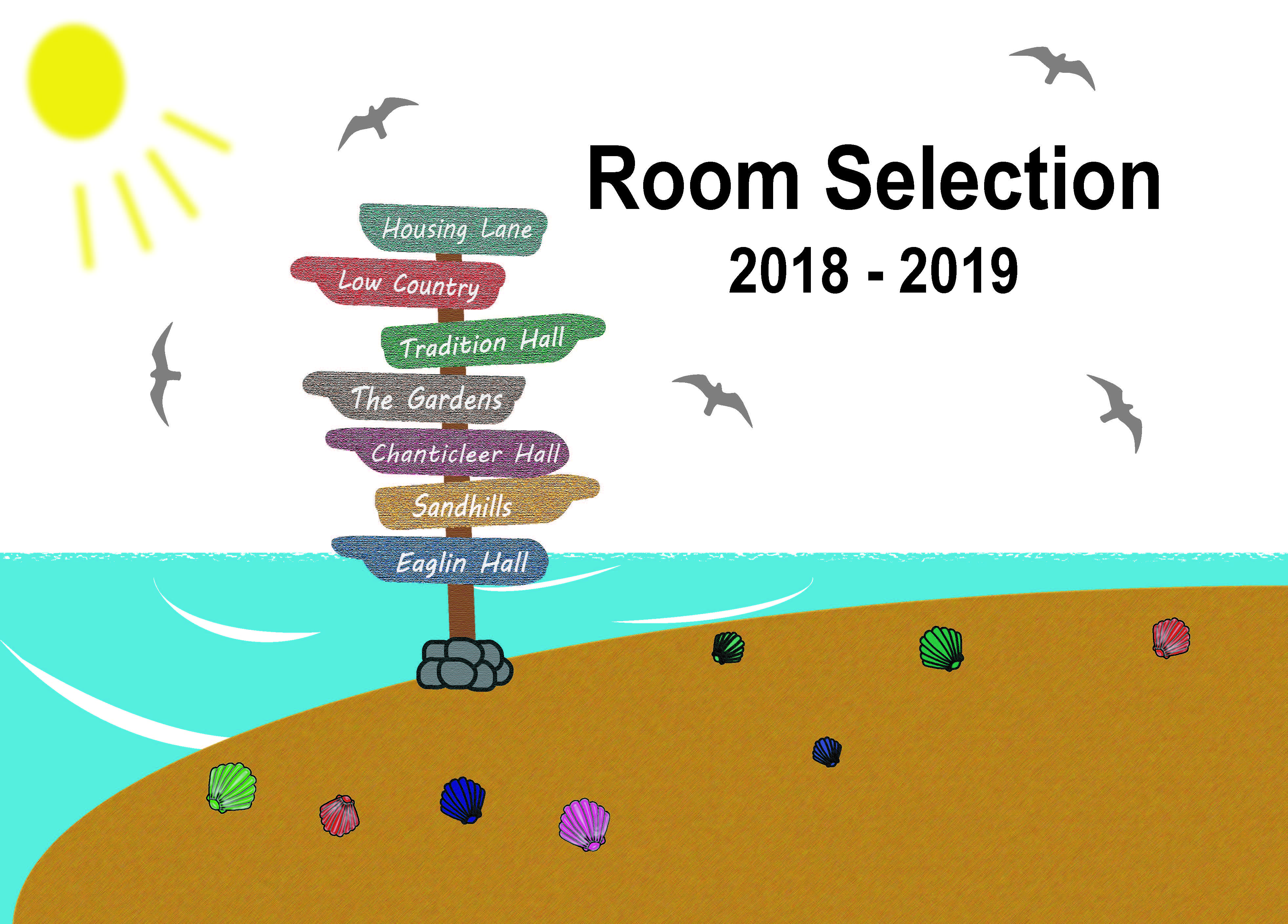 Room Selection 2018-2019