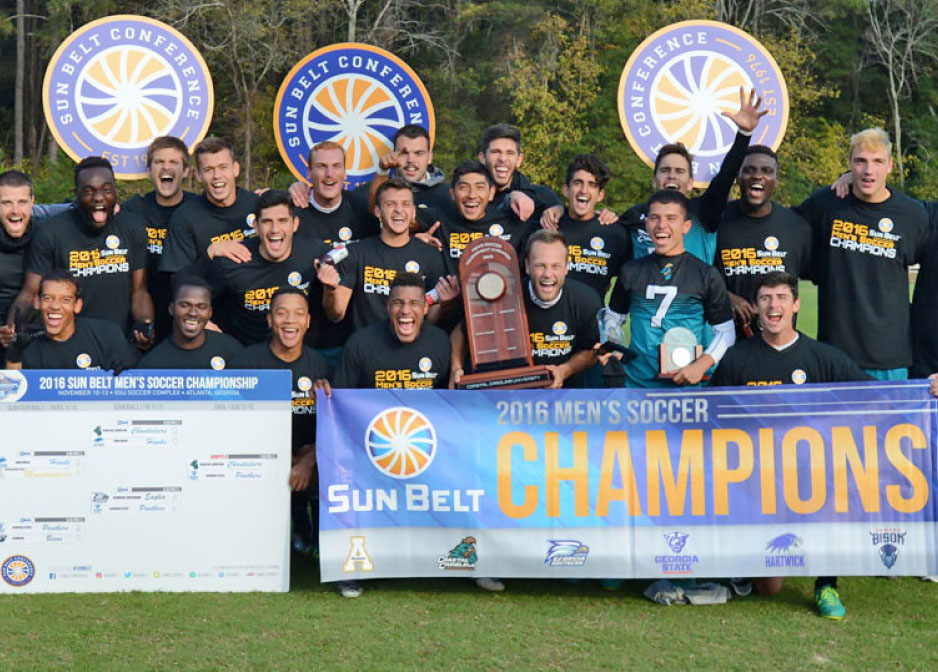 Teal and Bronze - Chanticleers on the Rise - Men's Soccer