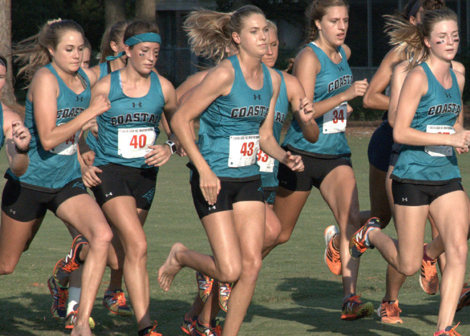 Teal and Bronze - Chanticleers on the Rise - Women's Cross Country