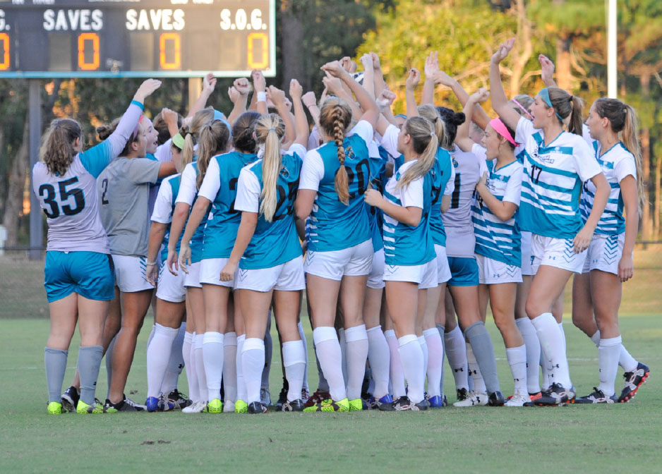 Teal and Bronze - Chanticleers on the Rise - Womens Soccer
