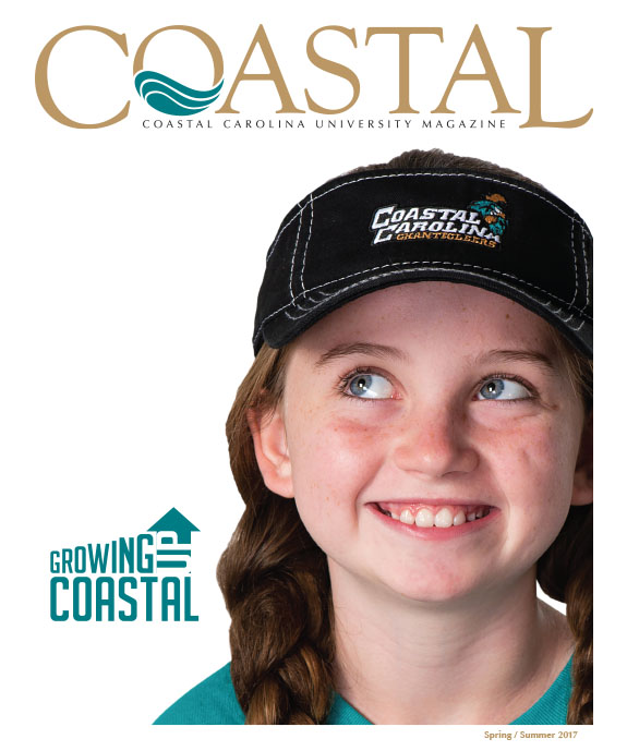 Cover of the Coastal Carolina University Magazine