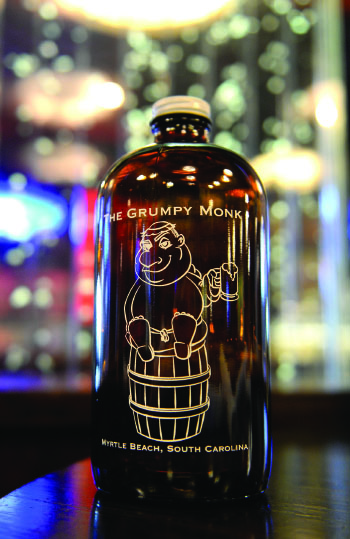 Grumpy Monk Beer Bottle