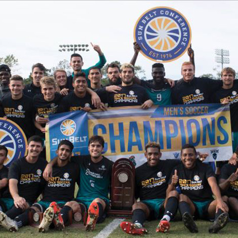 The Coastal Carolina University men's soccer team once again proved to be one of the top teams in the nation with their 2017 season success.