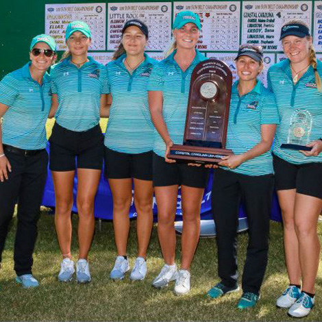 Women's Golf Finishes Tied for 15th at Region Championship.