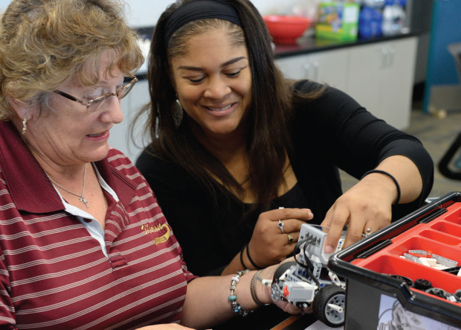 A team of Coastal Carolina University education and science professors are leading a new initiative to train middle school teachers from Marion County in robotics as part of the county's math and science curriculum, thanks to a $150,000 grant from the South Carolina Commission on Higher Education.