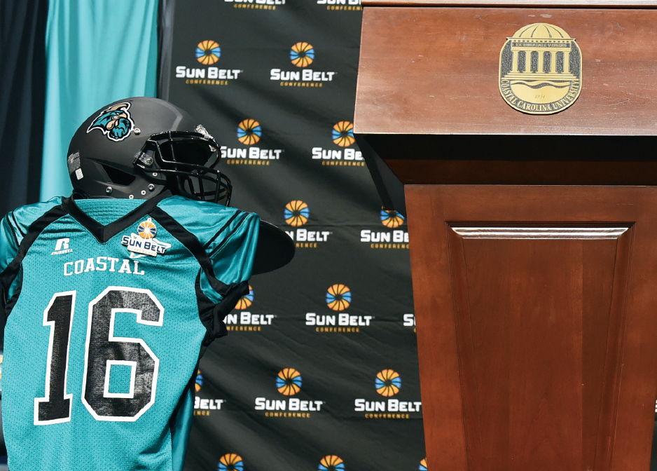 CCU scored a major win with its invitation to join the Sun Belt Conference.
