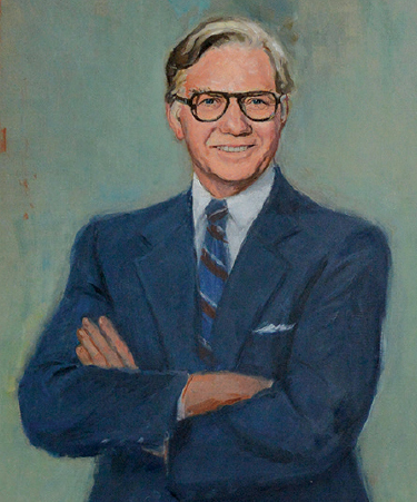 CCU unveils portrait of founding father - Joseph W. Holliday