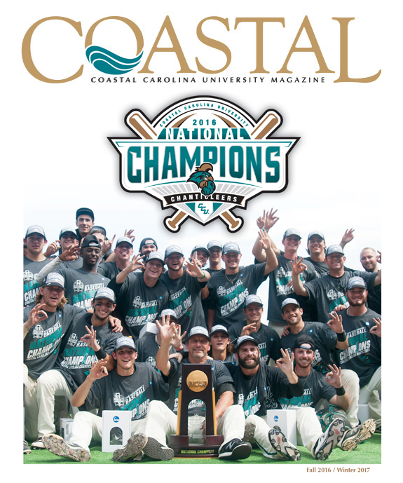 Cover of the Coastal Magazine Fall 2016 / Winter 2017 Edition