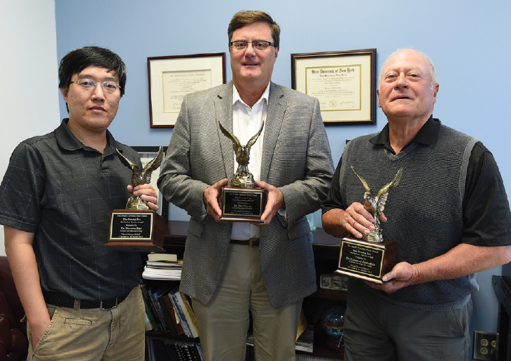 Of Note - CCU scientists honored for flood relief
