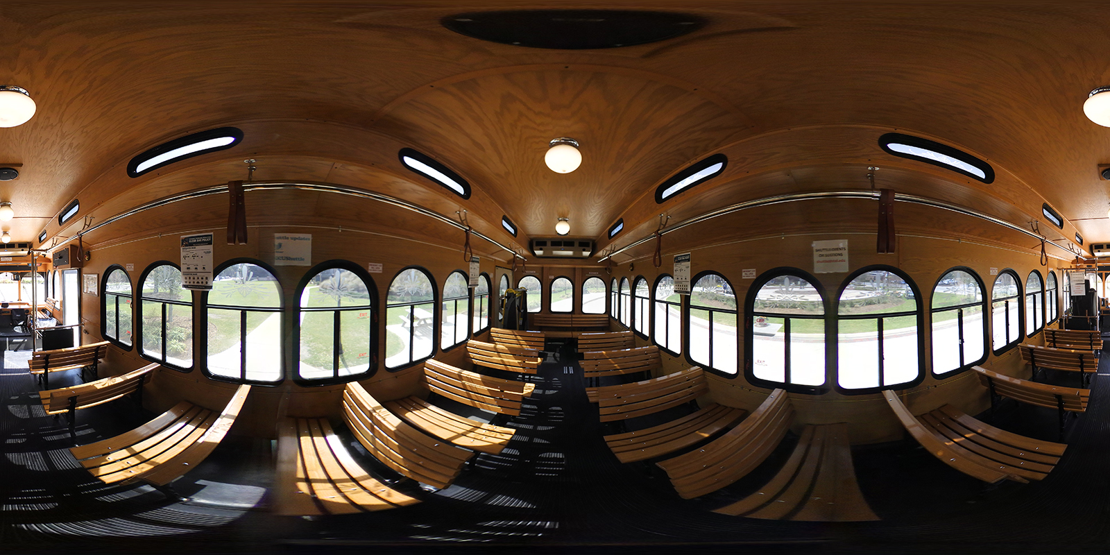 360 Interior of the Trolley