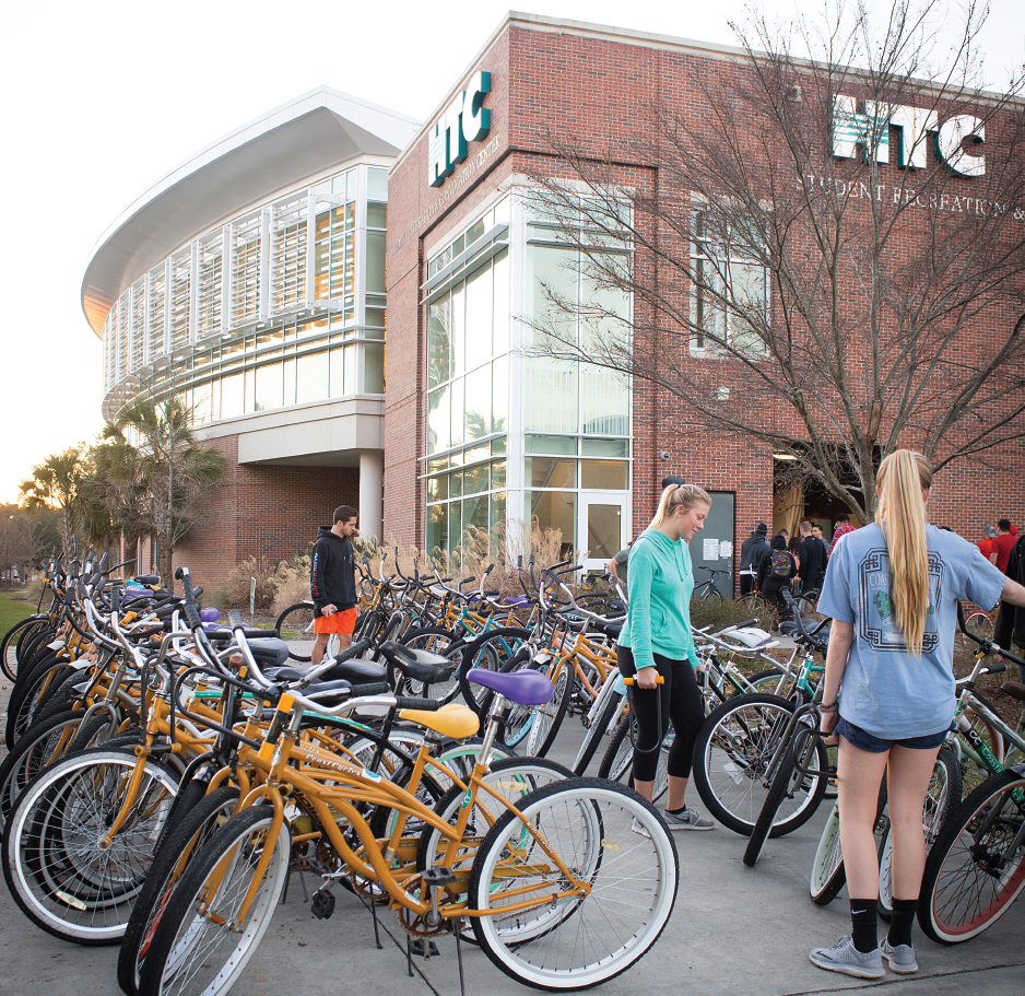 Bikes at HTC Center
