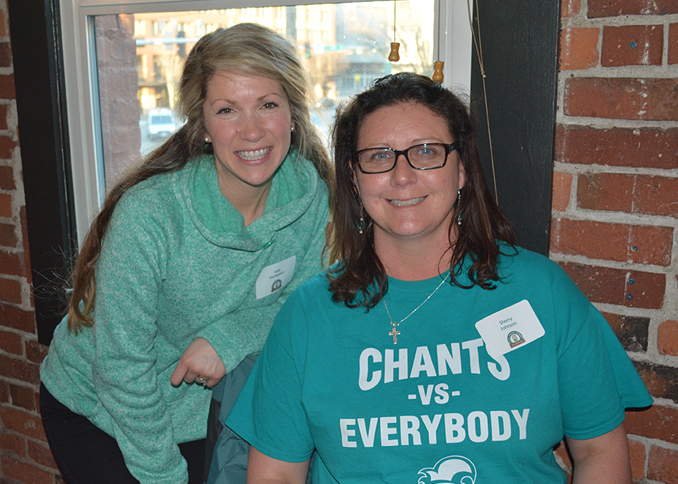 Kelli McMeekin and Sherry Johnson enjoying the CCU alumni gathering in Seattle.