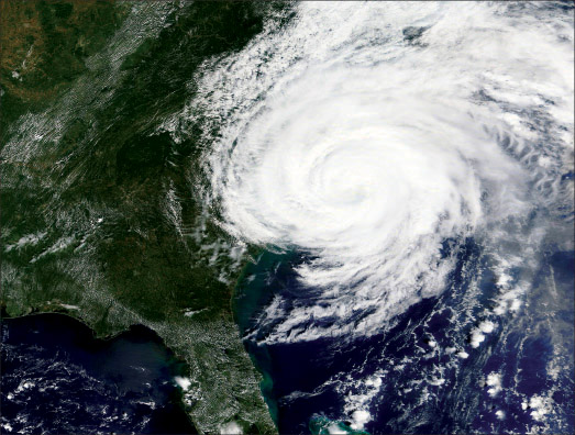 Satellite of Hurricane