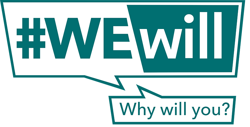 We Will public health campaign