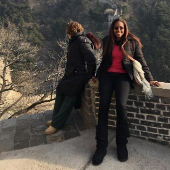 Kay Keene in China