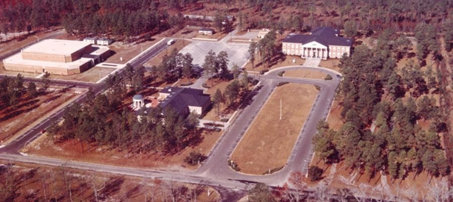 Campus view in the early 1970s