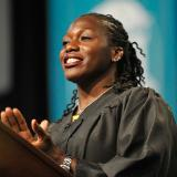 CCU alumna Amber Campbell, 2017 commencement speaker, CCU honorary degree image