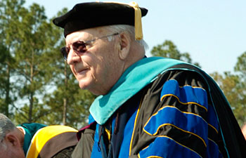Edward M. Singleton CCU Honorary Degree 2005 image