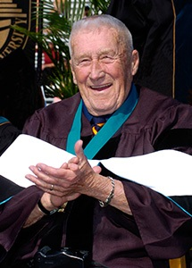 Mickey Spillane CCU Honorary Degree image 2005