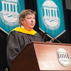 Robert W. Honeycutt CCU Honorary Degree 2017 image