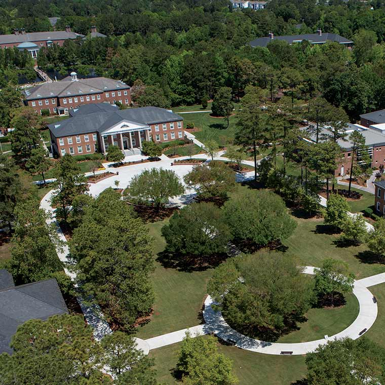 Visit The Campus Coastal Carolina University