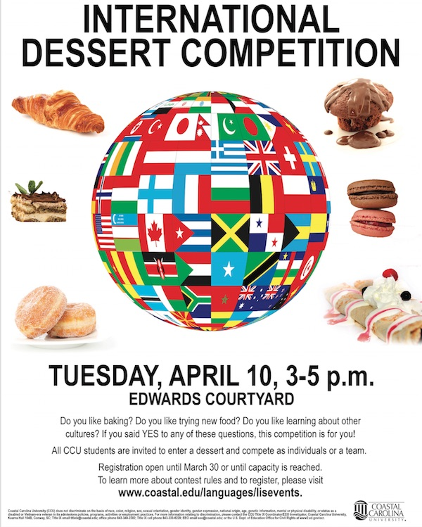 Dessert Competition 2018   Poster (JPEG) Updated February 19, 2018.