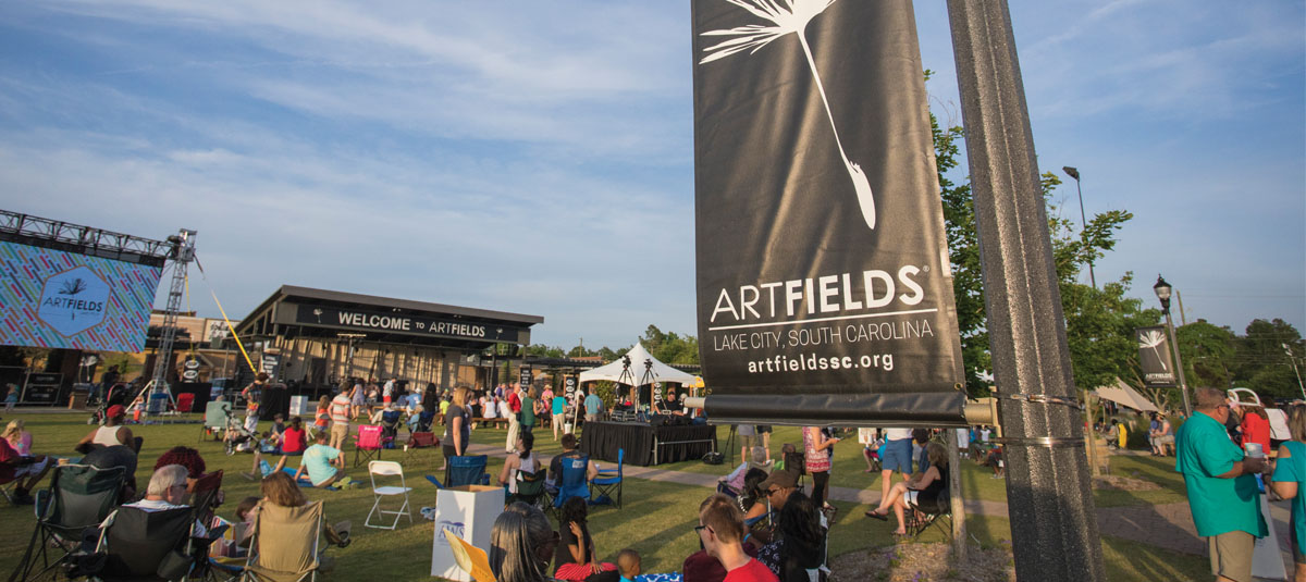 Crowds gather at ArtFields in Lake City, S.C.