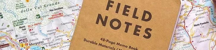 Field Notes Banner