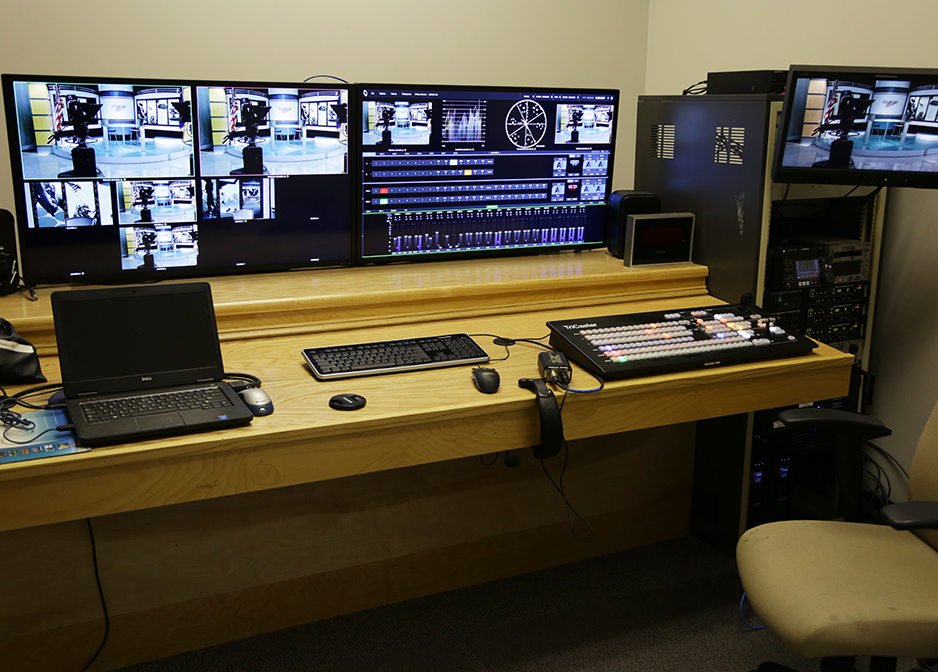 Inside the Video Production Control Room