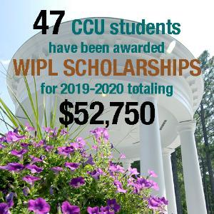 2019-2020 WIPL Scholarships of $52,750 to 47 students graphic