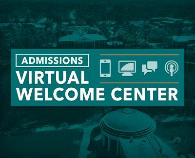 Admissions Virtual Welcome Center