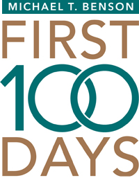 First 100 Days - graphic