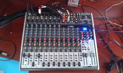 Radio shows equipment