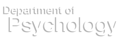 Psychology Department name