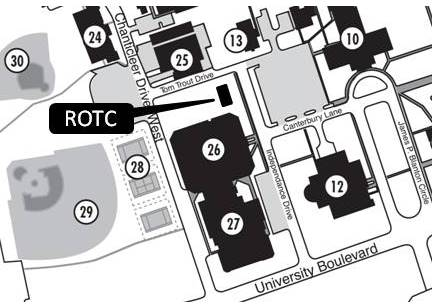 ROTC location map