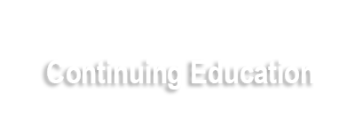 Continuing Education Banner Image