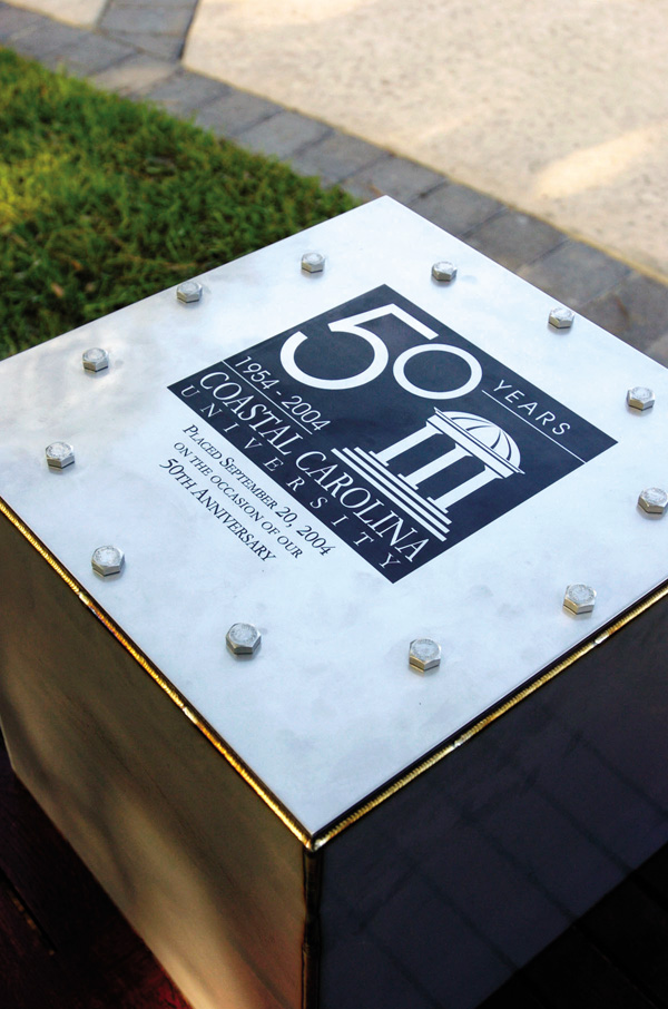 50th Anniversary Time Capsule in Spadoni Park
