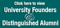 Link to Founders, recipients of University Medallion, Distinguished Alumni roster