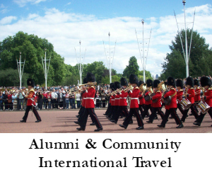 Alumni and Community International Travel Widget