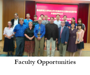 International Programs Faculty Opportunities