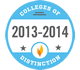 SC Colleges of Distinction logo