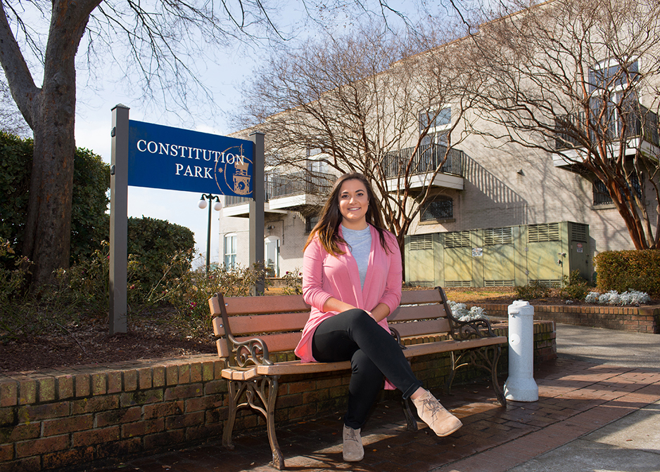 Sarah Vicini is in the Georgetown educator-in-residence program at Coastal Carolina University.