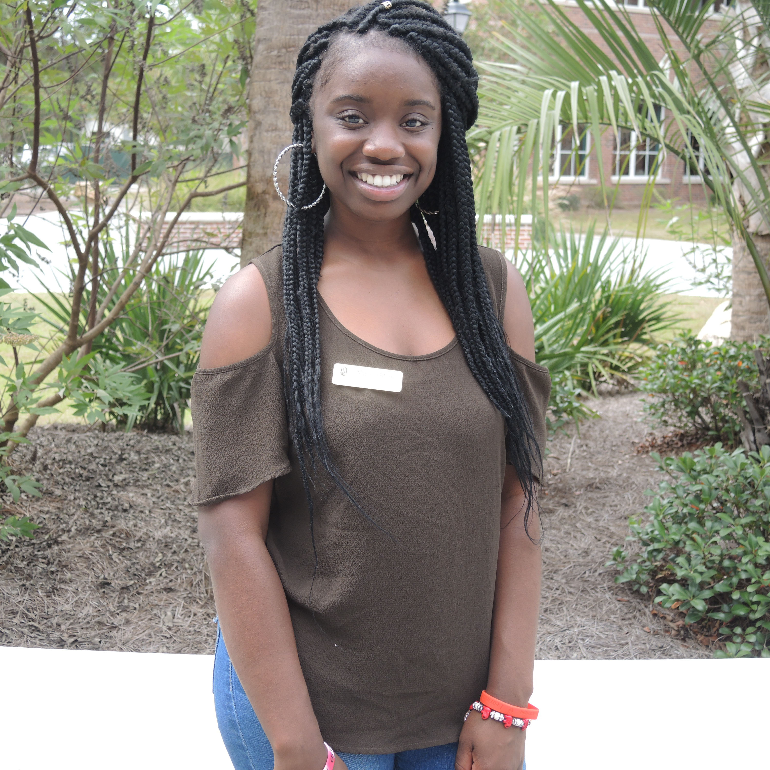 Mikayla is vice president of the #CCU Women of Color group.