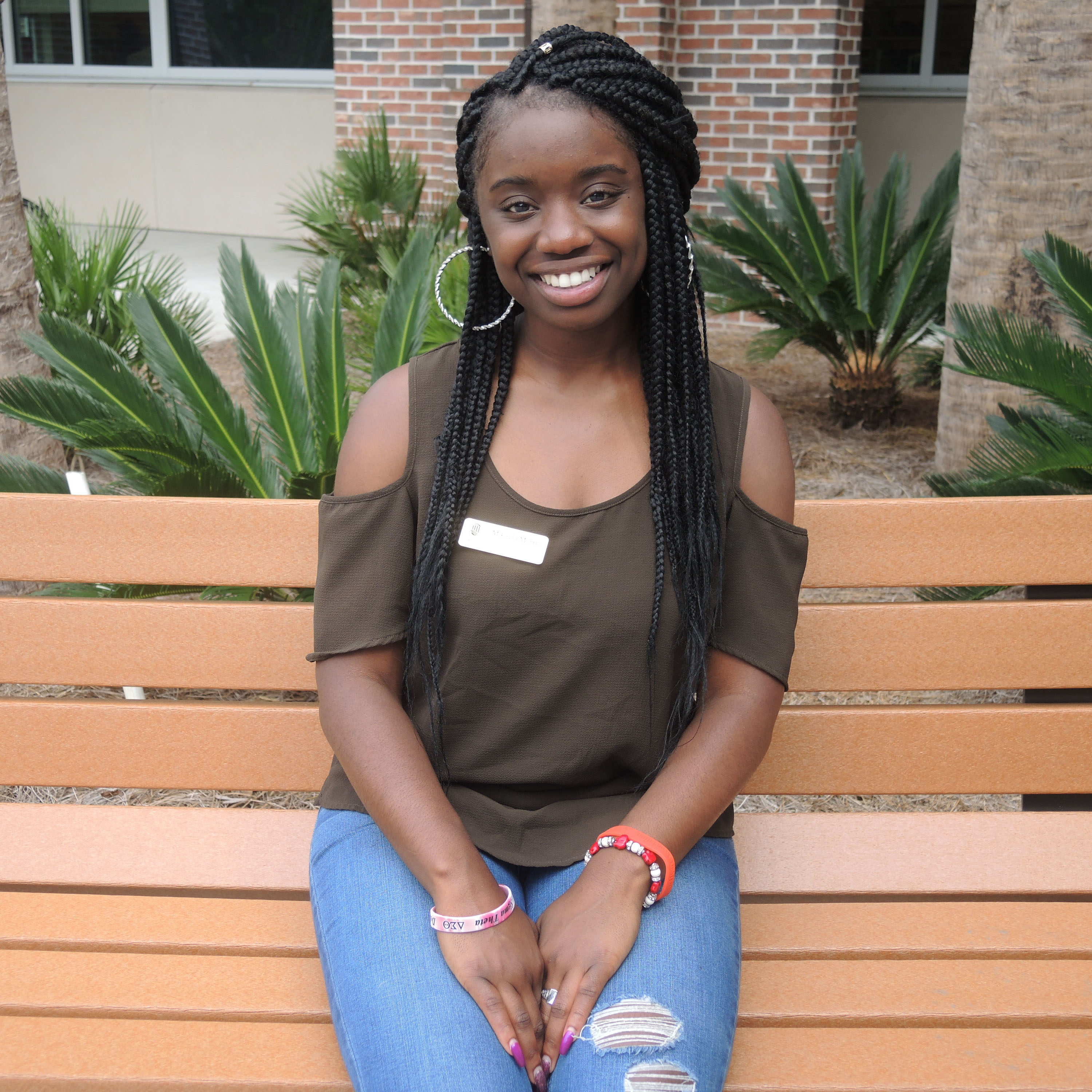 Mikayla is part of the #CCU Inspirational Ambassadors.